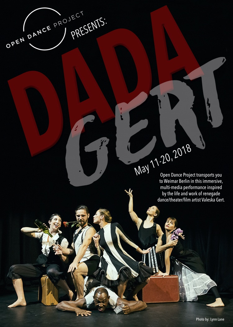 Dada Gert postcard front
